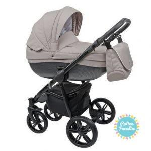bērnu rati ROAN BASS Carbon Black Nude, Детские коляски