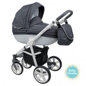bērnu rati ROAN BASS B3 Black, Детские коляски