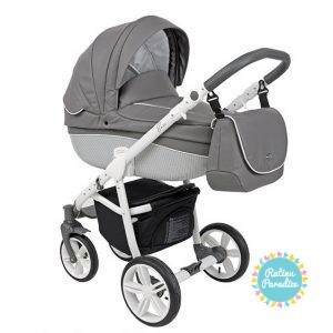 bērnu rati ROAN BASS Carbon White-Mountai, Детские коляскиn