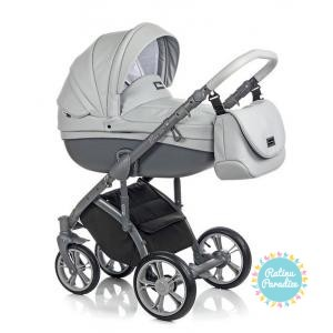 bērnu rati ROAN BASS SOFT Dove Grey, Детские коляски
