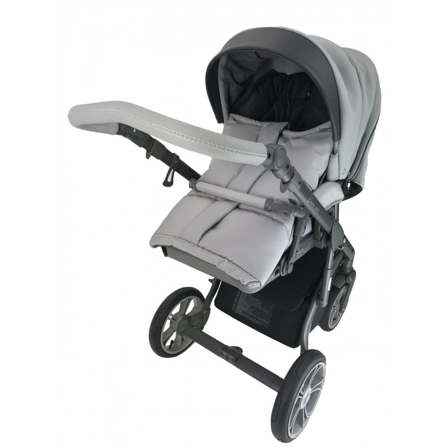 bērnu rati ROAN BASS SOFT Anthracite Grey, Детские коляски