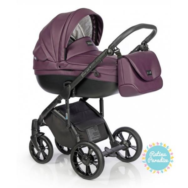 bērnu rati ROAN BASS SOFT Lavender Night, Детские коляски