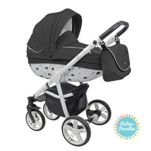 bērnu rati ROAN BASS B4 Black, Детские коляски