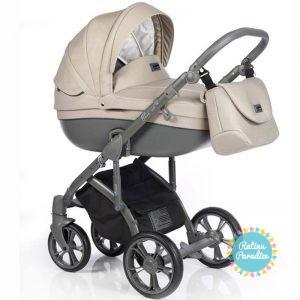 bērnu rati ROAN BASS SOFT Beige Dots, Детские коляски