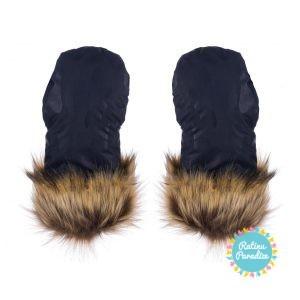 gloves inverno no.2 col. navyblue 1