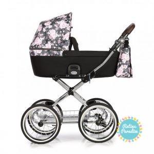 bērnu rati ROAN COSS CLASSIC Night Flowers , Детские коляски