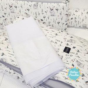 Gultas Veļas Komplekts no 7 daļām.PUER firmas ražotie gultas veļas komplekti apvieno sevī dabīgos materiālus un laikmetīgā dizaina stilīgumu.