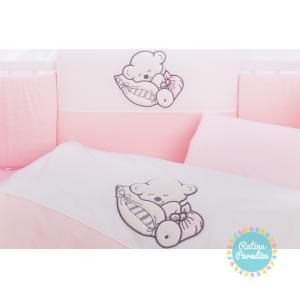 gultas veļas komplekts no 5 daļām jaundzimušajiem