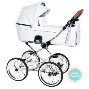 Bērnu rati ROAN COSS CLASSIC ECO-ĀDA-caramel-white