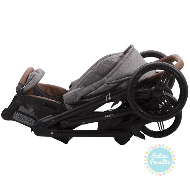 bērnu rati Bebetto NICO, pastaigu rati Bebetto Nico , Спортивные коляски Nico