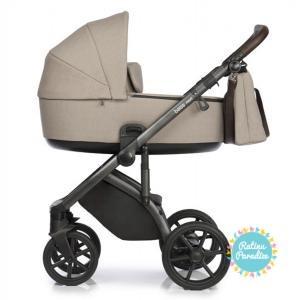 Bērnu rati ROAN BASS NEXT beige детская коляска рига