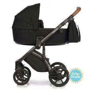 Bērnu rati ROAN BASS NEXT black детская коляска рига