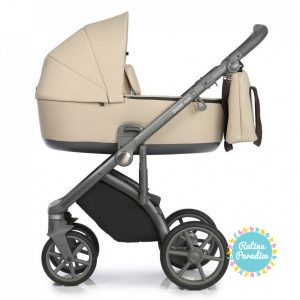 Bērnu rati ROAN BASS NEXT Nougat детская коляска рига