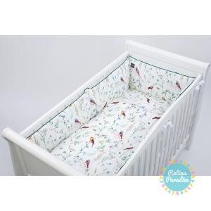 Apmale bērnu gultiņai PUER Birds 360 cm
