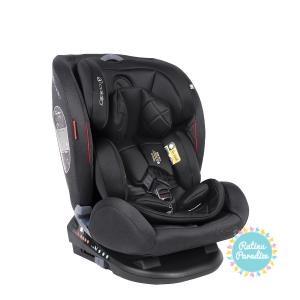 Autokrēsliņš bērniem no 0 līdz 36 kg (no dzimšanas līdz apmēram 12 gadiem), 0 +, 1, 2, 3 grupa coletto cascade black