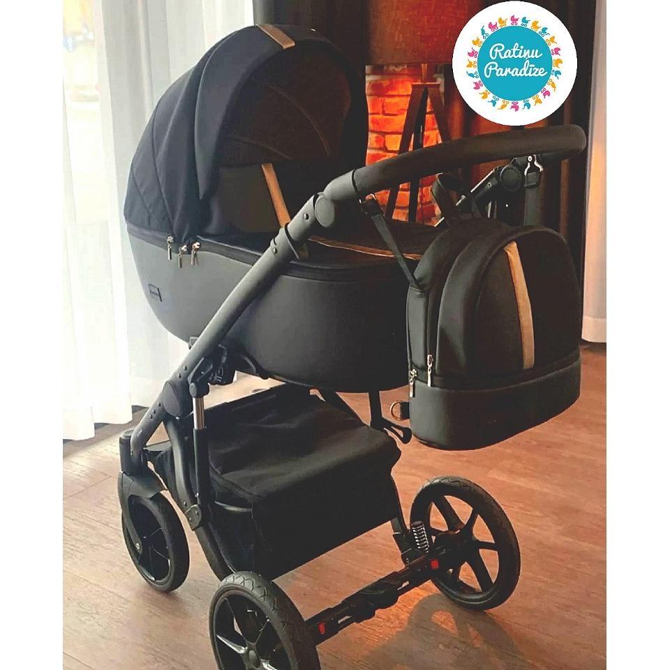 Bērnu rati - Bexa - AIR -Gold. Детская универсальная коляска - BEXA - AIR.