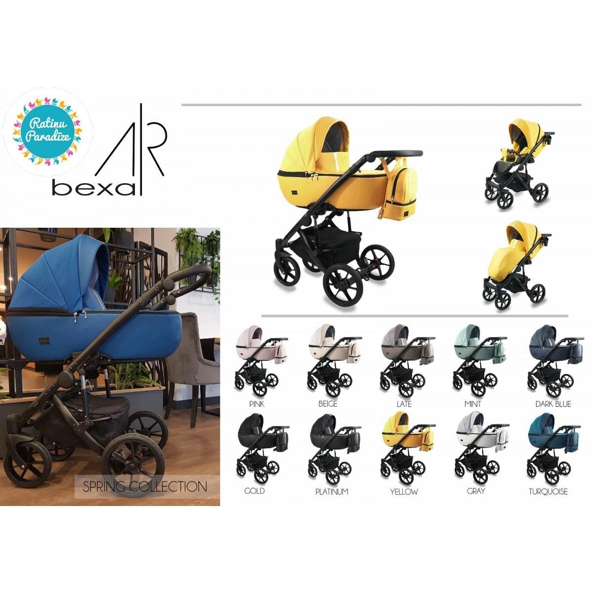 Bērnu- rati - Bexa- Air.Детская универсальная коляска-BEXA AIR