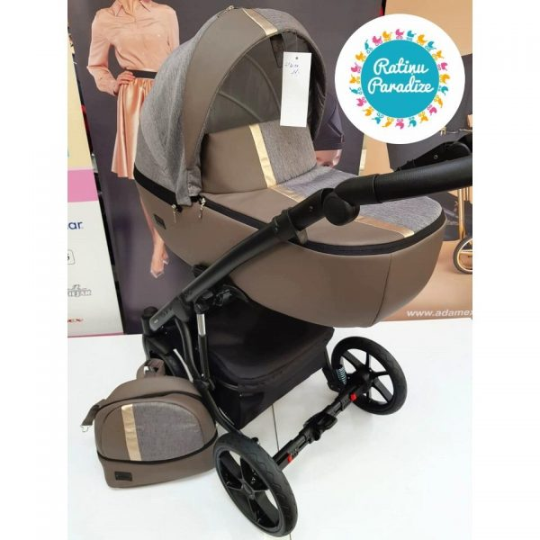 Bērnu-rati-Bexa -AIR-LATTE. Детская универсальная-коляска – BEXA – AIR.