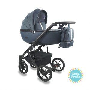 Bērnu-rati-Bexa -AIR-Dark-Blue. Детская универсальная-коляска - BEXA - AIR.