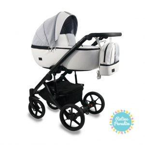 Bērnu rati - Bexa -AIR -GRAY. Детская универсальная коляска - BEXA - AIR.