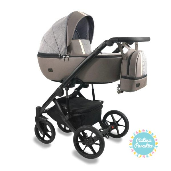 Bērnu-rati-Bexa -AIR-LATTE. Детская универсальная-коляска – BEXA – AIR.bexa-air-latte_1