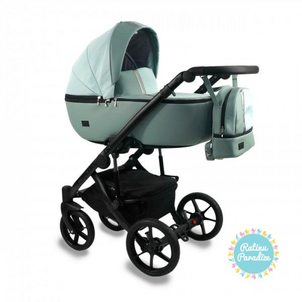 Bērnu-rati-Bexa -AIR-MINT. Детская универсальная-коляска – BEXA – AIR.