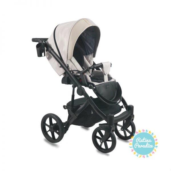 Bērnu-rati-Bexa -AIR-Dark-Beige. Детская- универсальная-коляска-BEXA-AIR-beige..