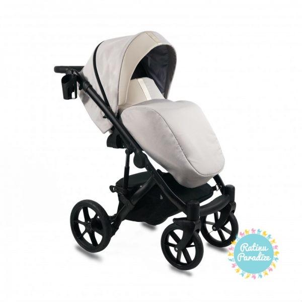 Bērnu-rati-Bexa -AIR-Dark-Beige. Детская- универсальная-коляска-BEXA-AIR-beige.