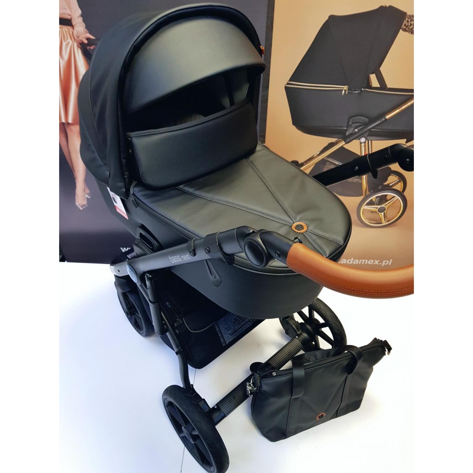 Bērnu-rati-ROAN-BASS-NEXT-ECO-ĀDA-black-детская-коляска-Roan-22