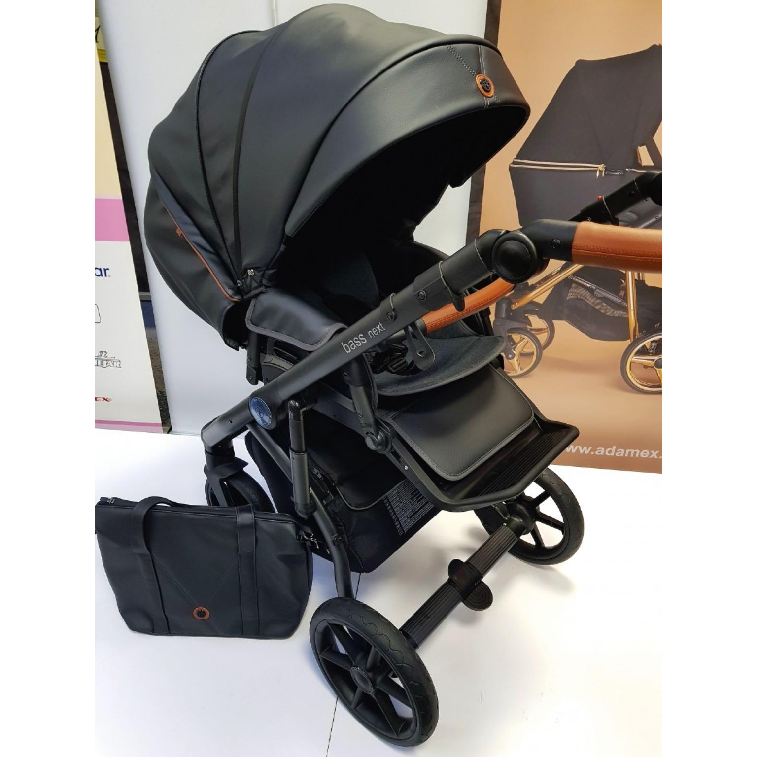 Bērnu-rati-ROAN-BASS-NEXT-ECO-ĀDA-black-детская-коляска-Roan-13