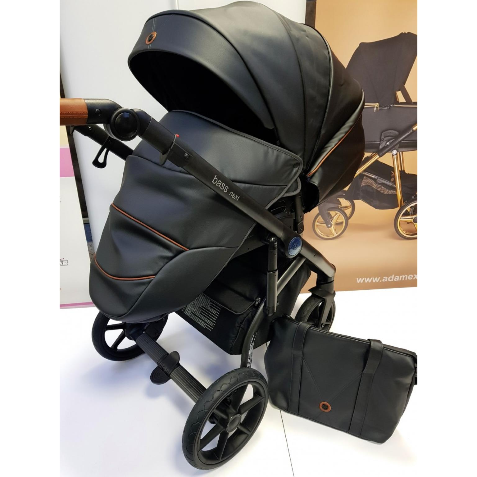 Bērnu-rati-ROAN-BASS-NEXT-ECO-ĀDA-black-детская-коляска-Roan-16