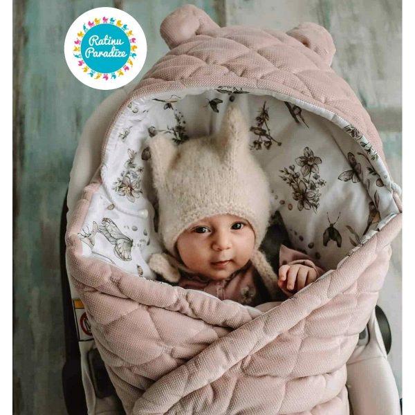 Sedziņa-konverts-autokrēsliņām-Babysteps-Sepia-rose-(3)