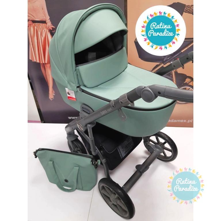 Bērnu-rati-ROAN-BASS-NEXT-ECO-ĀDA-Mint-детская-коляска-2