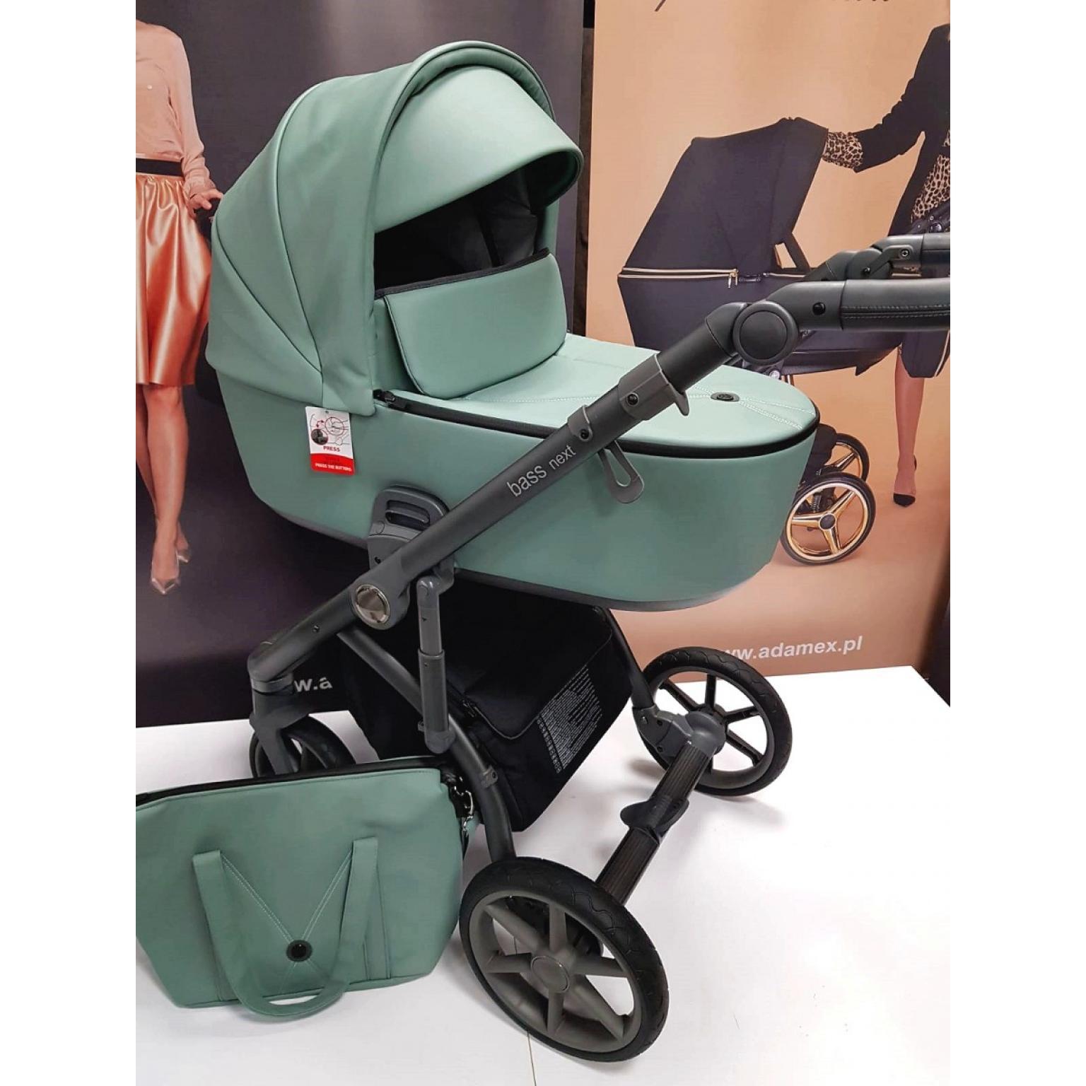 Bērnu-rati-ROAN-BASS-NEXT-ECO-ĀDA-Mint-детская-коляска