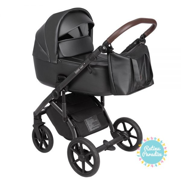 Bērnu-rati-ROAN-BASS-NEXT-ECO-ĀDA-black