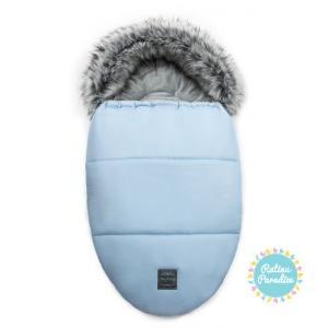 Bērnu guļammaiss ratiem FLOOFORBABY Footmuff EGG 05-blue