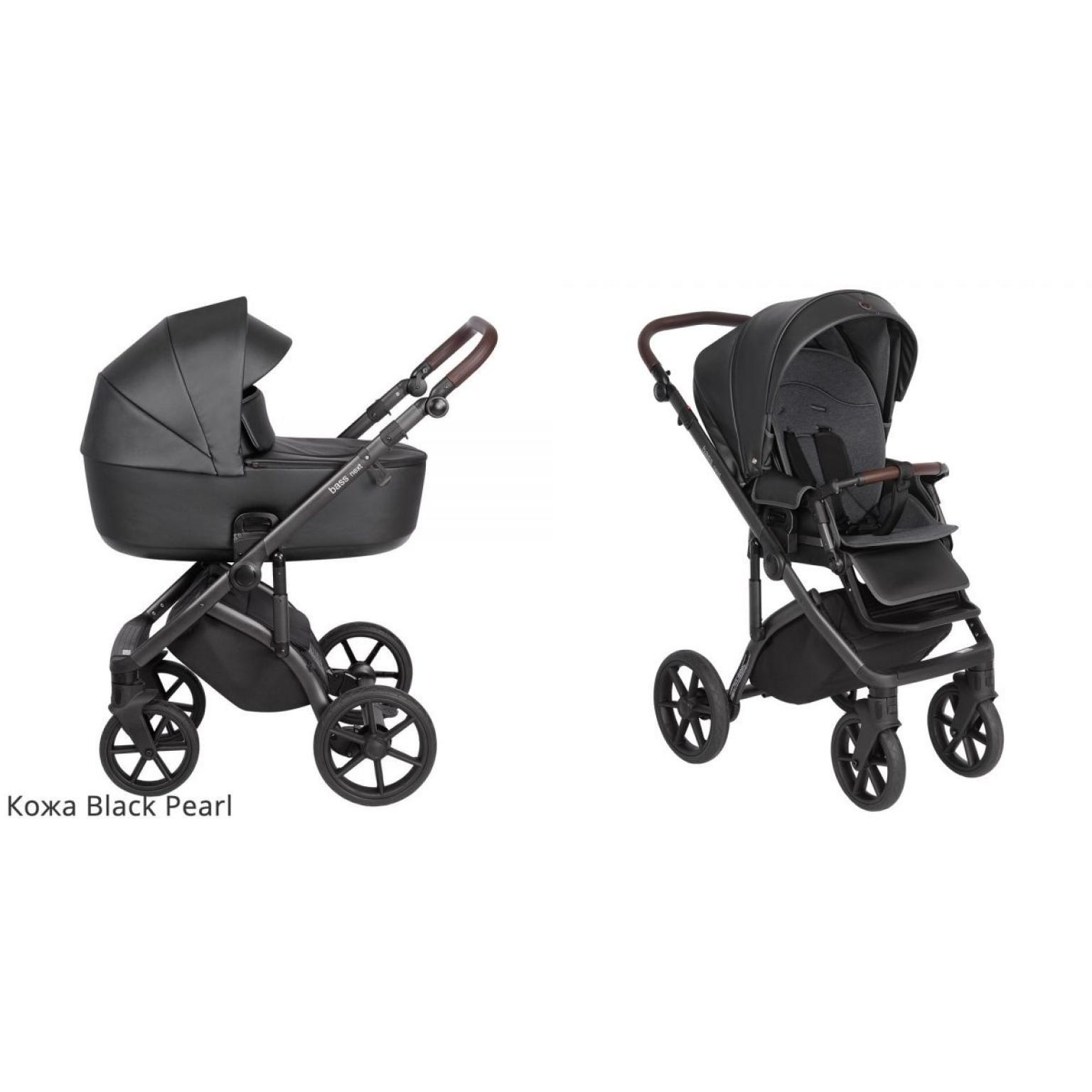 Bērnu-rati-ROAN-BASS-NEXT-ECO-ĀDA-black-детская-коляска
