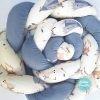 Apmalīte bērna gultiņai PUER exclusive – Vigvam blue(3)