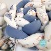 Apmalīte bērna gultiņai PUER exclusive – Vigvam blue(4)