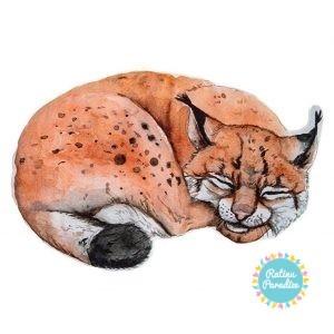 poduszeczka lynx