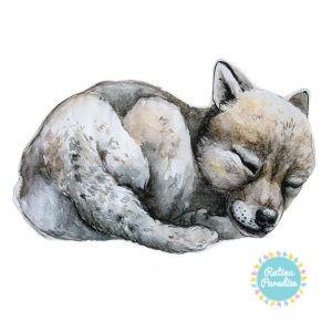 poduszeczka wolf