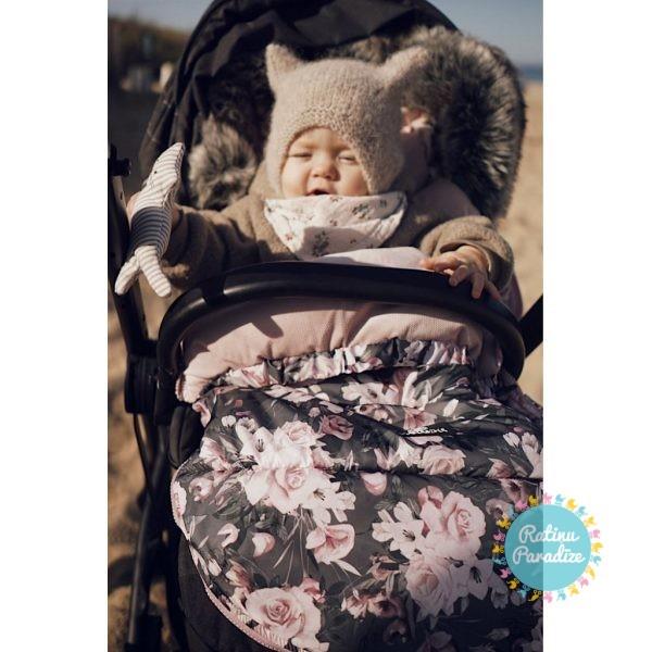 Guļammaiss-ratiem–Конверт/спальный-мешок-Makaszka-Premium – Night-Flowers-(3)
