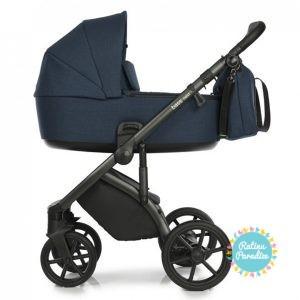Bērnu rati ROAN BASS NEXT Midnight детская коляска рига